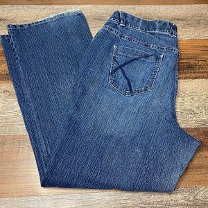 Lane Bryant 18 Boot Cut Tighter Tummy Tech Jeans